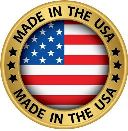 The Motorcycle Coaster® is proudly made in the U.S.A.